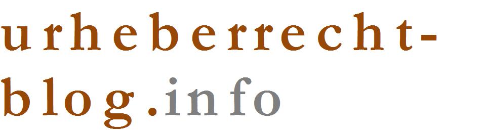 Urheberrecht – Blog